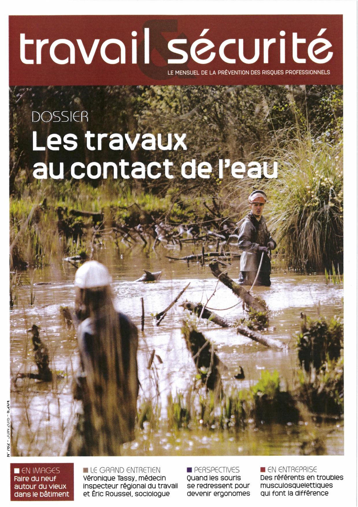 Les travaux au contact de l'eau, la sécurité en chantier rivière, page 1
